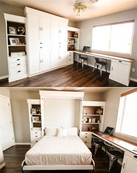 Free Standing Murphy Bed Diy Farmhouse