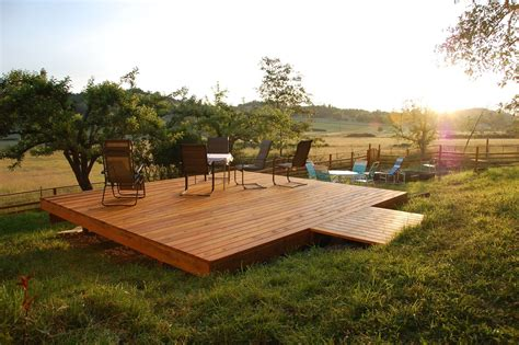 Free Standing Wood Patio Plans