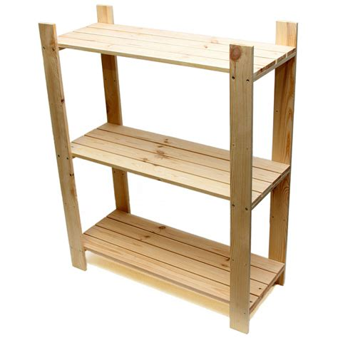 Free Standing Wood Storage Rack Plans