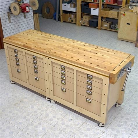 Free Standing Workbench Plans