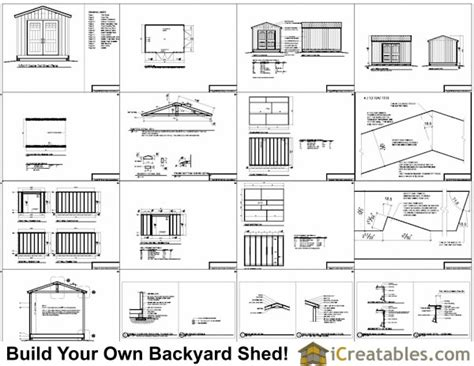 Free Storage Shed Plans 10x14