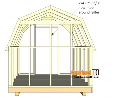 Free Storage Shed Plans Download 8x8