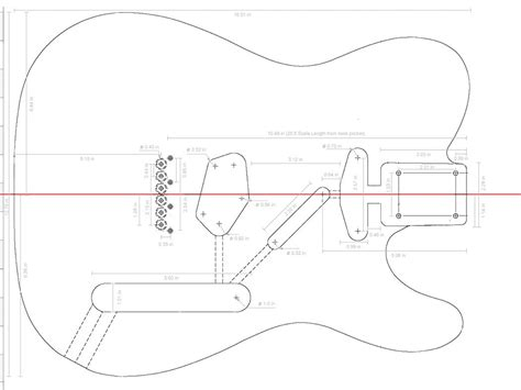 Free Telecaster Body Plans Of Animals