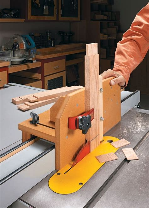 Free Tenon Jig Plans For Table Saw