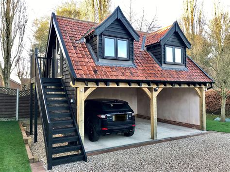 Free Timber Frame Garage Plans Uke