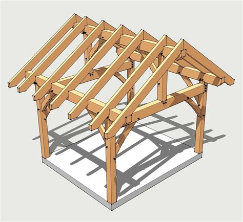 Free Timber Frame Pavilion Plans