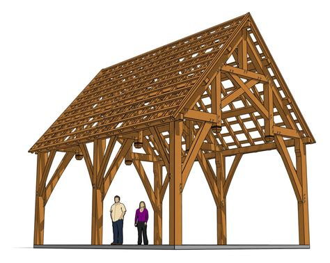 Free Timber Frame Truss Plans