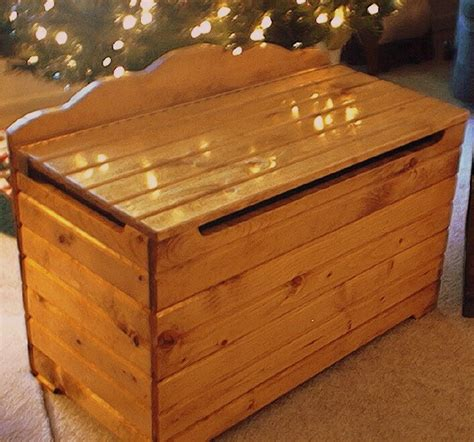 Free Toy Box Woodworking Plans