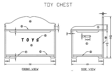 Free Toy Box Woodworking Plans And Drawings Of Old Houses