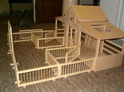 Free Toy Horse Stable Plans