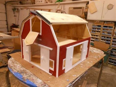 Free Toy Wooden Barn Plans