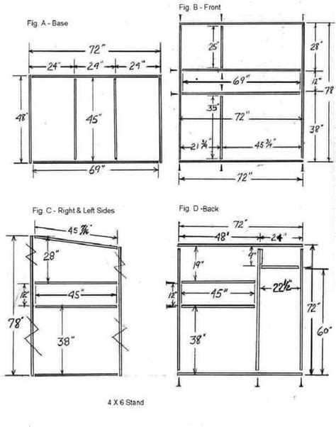 Free Tree Stand Plans Metal Shelter