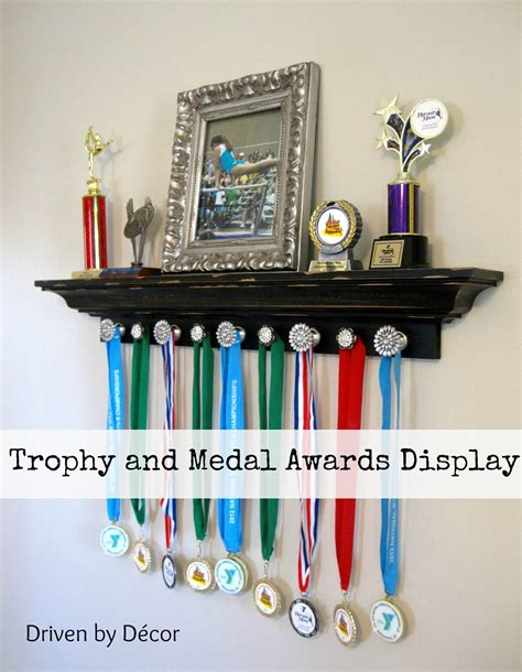 Free Trophy Shelf Plans