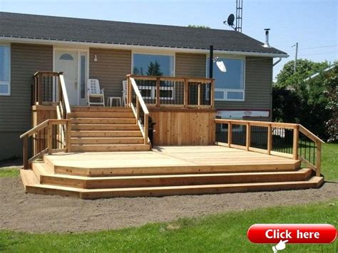 Free Two Tier Deck Plans