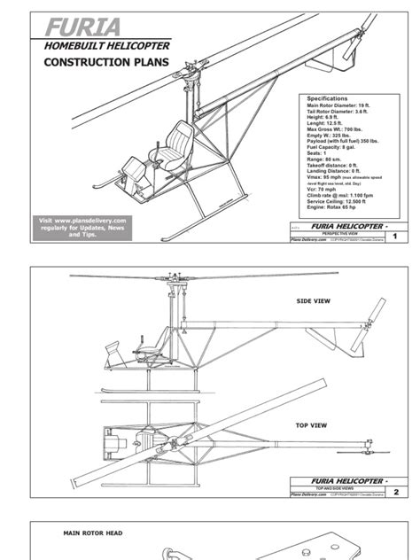 Free Ultralight Helicopter Plans
