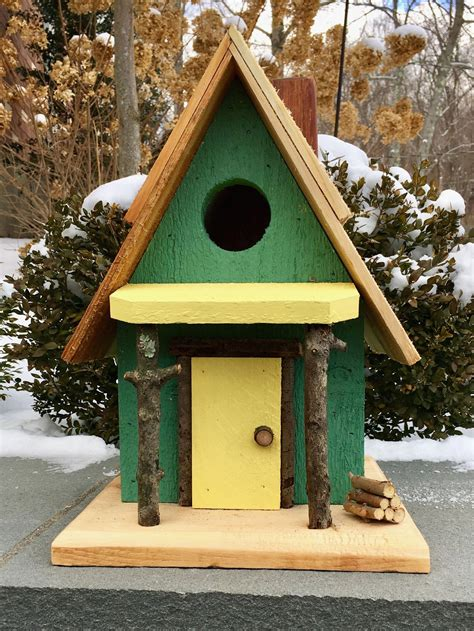 Free Unique Birdhouse Plans