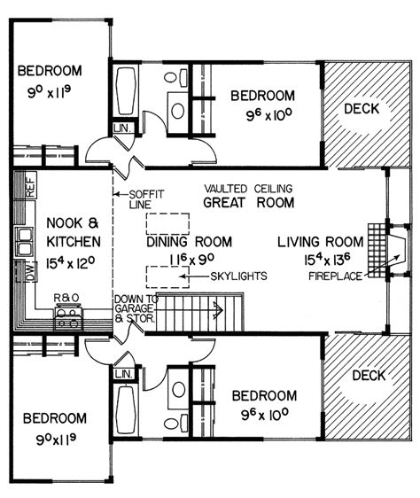 Free Vacation Home Floor Plans