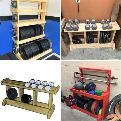 Free Weight Rack Diy