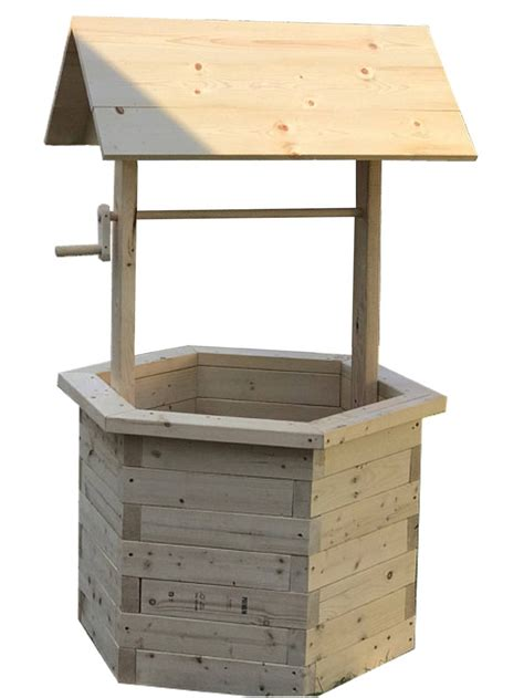 Free Wishing Well Plans 2x4