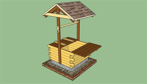 Free Wishing Well Plans Using 2x4s For Metal Roof