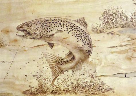 Free Wood Burning Patterns Of Fish