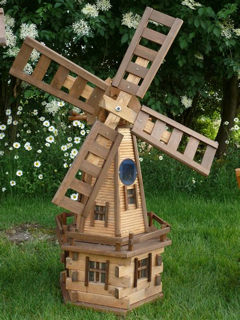 Free Wood Garden Windmill Plans Downloadable
