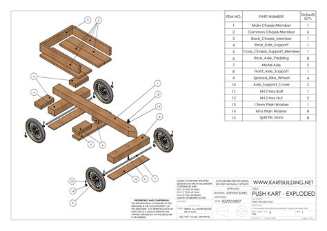 Free Wood Go cart Plans