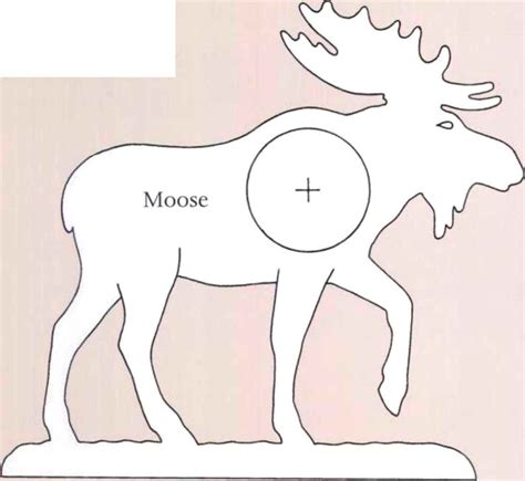 Free Wood Moose Pattern