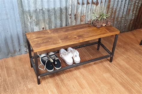 Free Wood Shoe Bench Plans