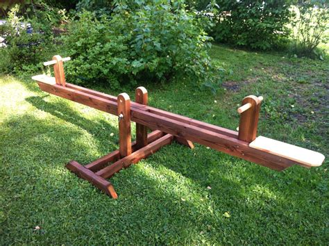 Free Wood Teeter Totter Plans Seesaw