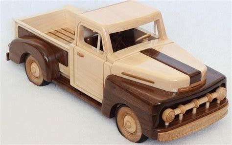 Free Wood Toy Truck Plans