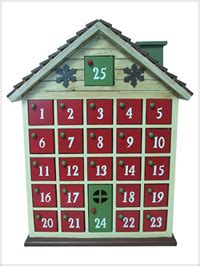 Free Wooden Advent Calendar Plans