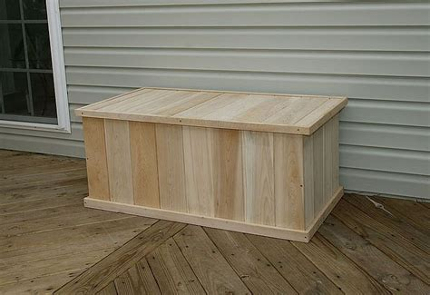Free Wooden Deck Box Plans
