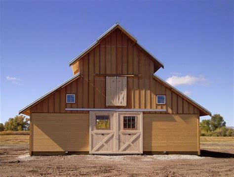 Free Wooden Horse Barn Designs And Plans