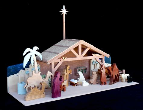 Free Wooden Nativity Manger Plans Free