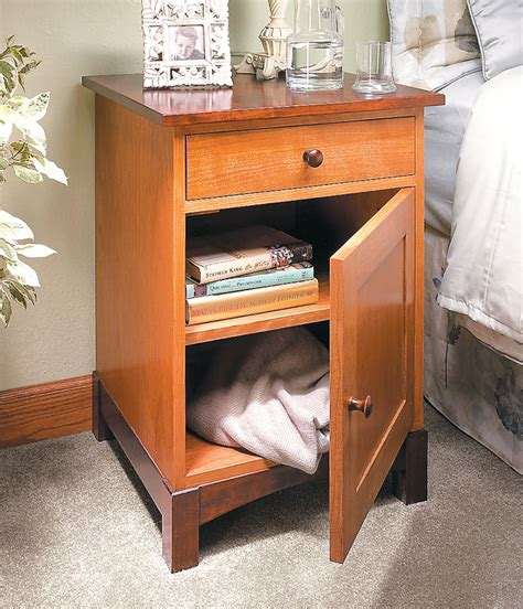 Free Wooden Nightstand Plans