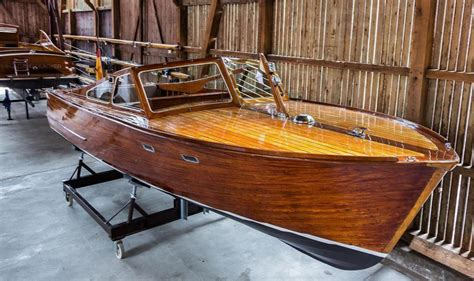 Free Wooden Runabout Boat Plans