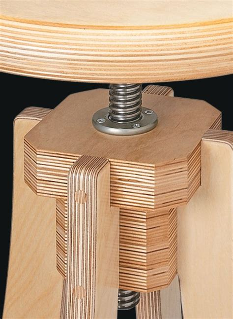 Free Wooden Shop Stool Plans