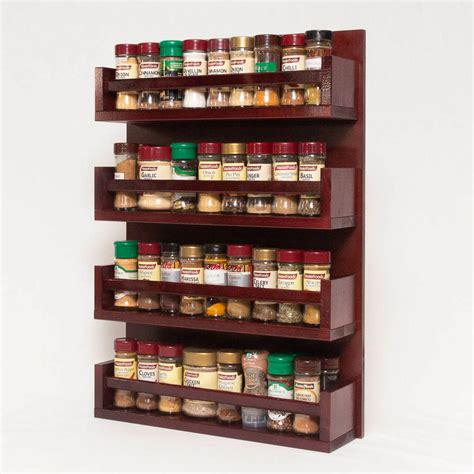 Free Wooden Spice Rack