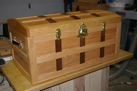 Free Wooden Steamer Trunk Plans And Hardware