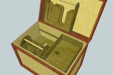 Free Wooden Tack Trunk Plans