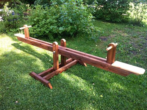 Free Wooden Teeter Totter Plans