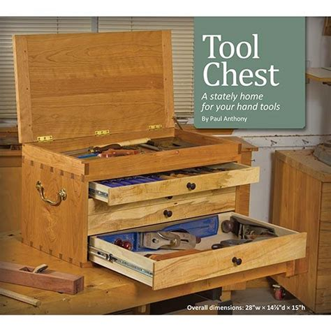 Free Wooden Tool Chest Plans