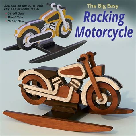 Free Wooden Toy Motorcycle Plans
