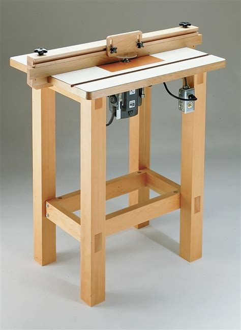 Free Woodsmith Router Table Plans