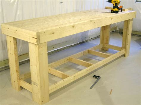 Free Woodworking Bench Plans Workbenches Lowes Home