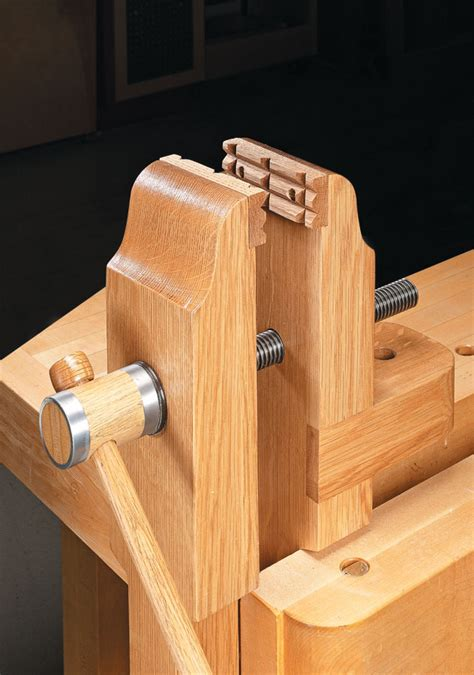 Free Woodworking Bench Vise Plans