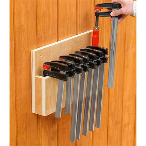 Free Woodworking Clamp Storage Rack Plans