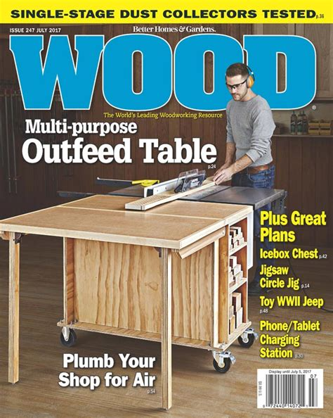 Free Woodworking Magazine Plans