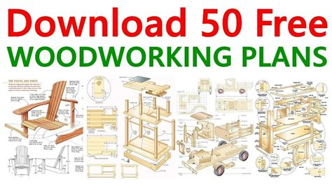 Free Woodworking Plans DIY Projects Guide